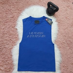 NEW Under Armour Fitted Sleeveless Shirt Top